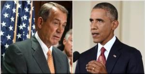 Boehner & Obama