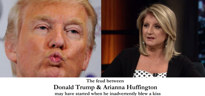 Donald-Huffington Feud