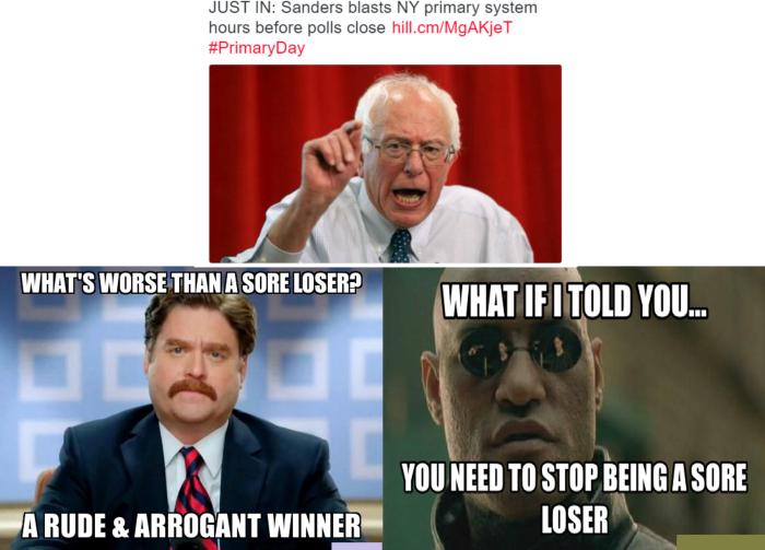 BernieLosing
