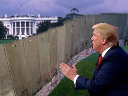 The Wall Trump Built