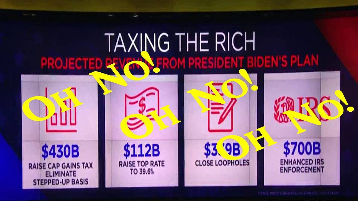Tax The Rich? Oh No!